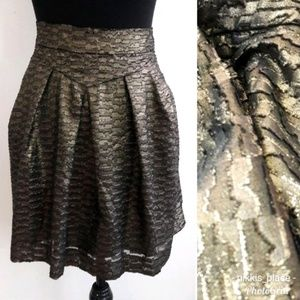 🦋 Gap Bubble A-Line Pleated Skirt